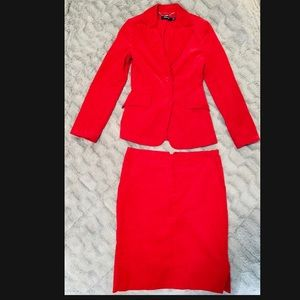NWT MANGO red blazer & pencil skirt outfit